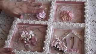 Wild Orchid Crafts - Flower Shadow Frame.