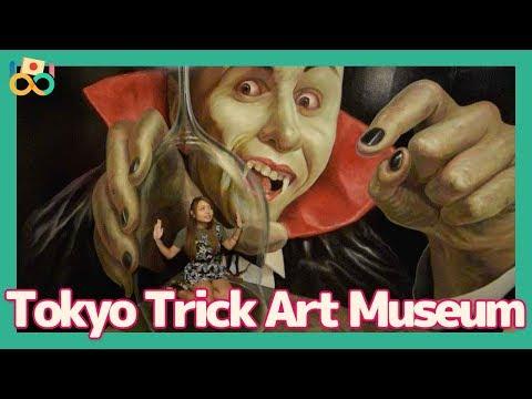 Tokyo Trick Art Museum, Japanese Magical Spot in Odaiba