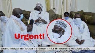 Urgent! Déclaration du khalif général des Mourides du 1er Safar 1442H