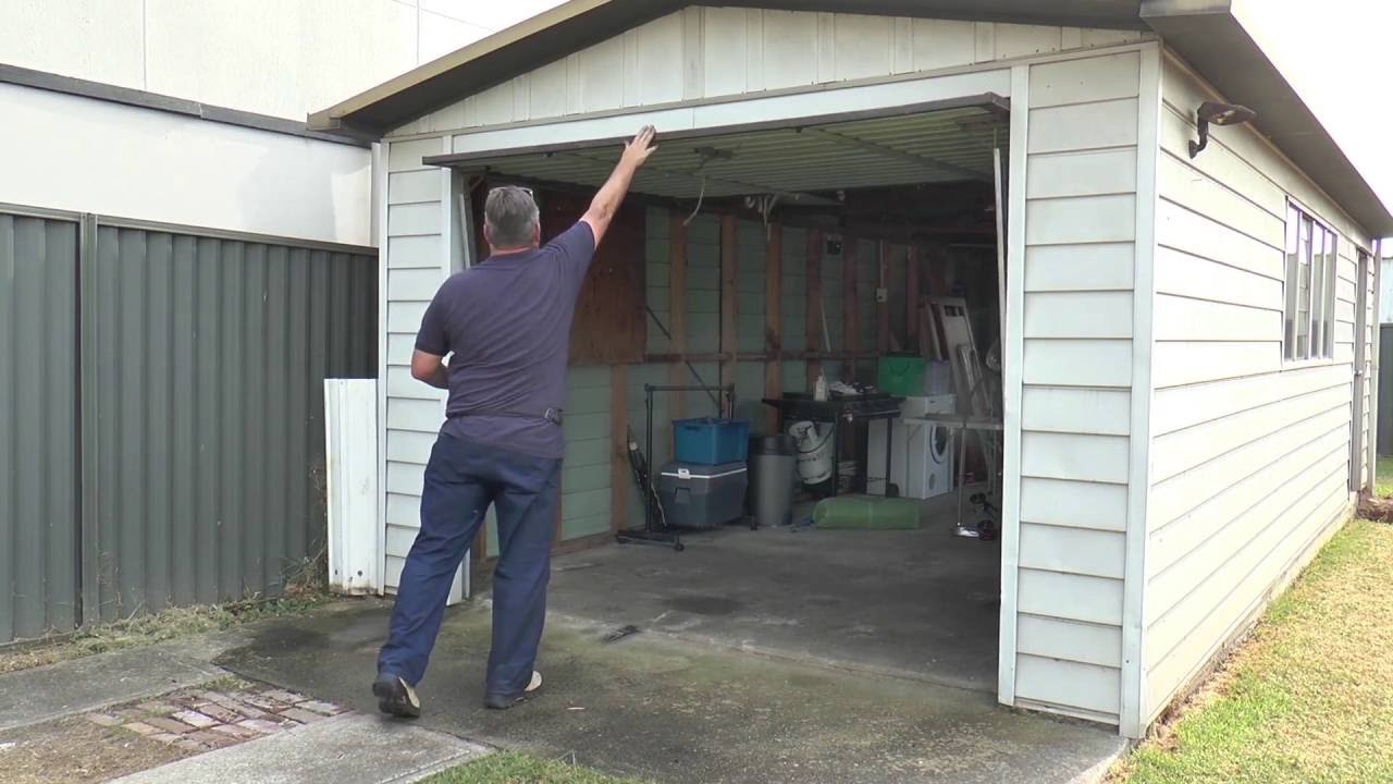 Cleverseal Tilt Garage Door Seals Youtube