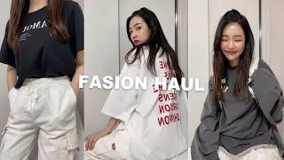 봄 데일리룩 쇼핑 ❤️ㅣ 편한 박시핏 여성의류 패션하울…