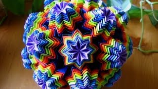 Repeat youtube video Origami ♥ Venus ♥ Kusudama
