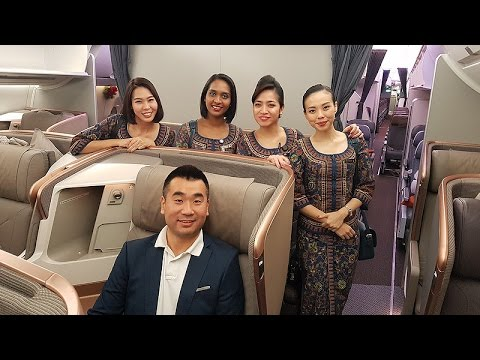 Thumbnail: Singapore Airlines A350-900 NEW BUSINESS CLASS REVIEW