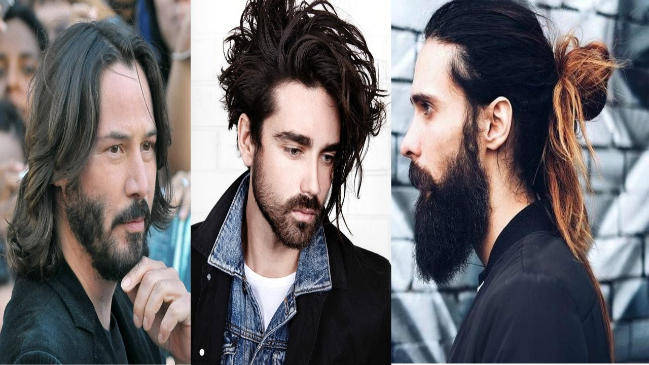 Top 15 New Long Hairstyles For Men 2017 2018 Mens Long