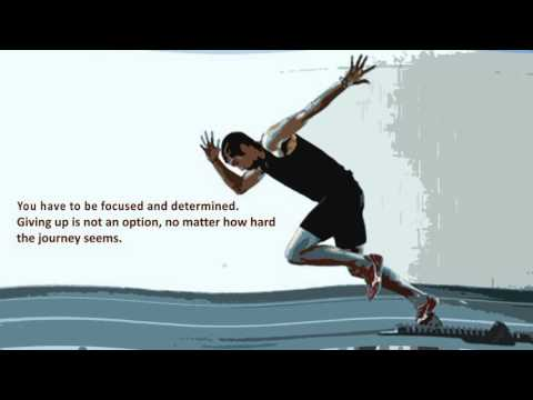 Qualities necessary, to become a successful sports person