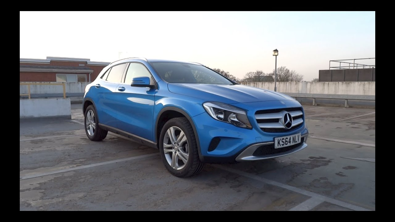 2015 mercedes benz gla 200 cdi sport start up and full. Black Bedroom Furniture Sets. Home Design Ideas