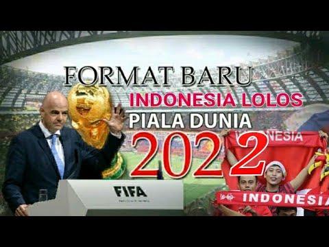 LOLOS? Timnas Indonesia tampil di final piala dunia 2022  YouTube
