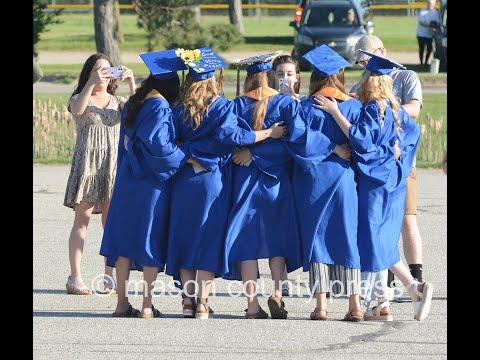 Mason County Central High School graduation June 5, 2020