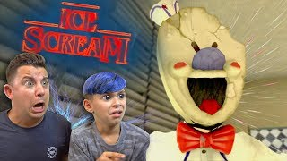 KILLER ICE CREAM MAN is after us! Ice Scream (Horror Game)