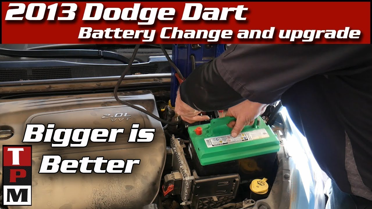 medium resolution of 2013 dodge dart battery replacement group 48