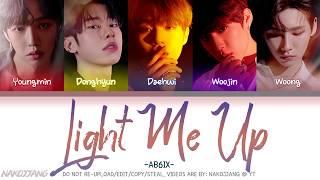 AB6IX (에이비식스) – Light Me Up (Color Coded Lyrics Eng/Rom/Han/가사)