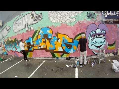 Cuba Street Graffitti