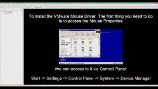 How to fix Mouse Driver Installing Error in VMware Workstation 12 Pro