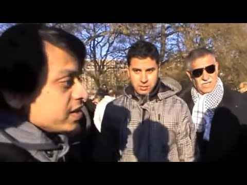 The Trinity Case! Mansur Vs Christians | Speakers Corner | Hyde Park