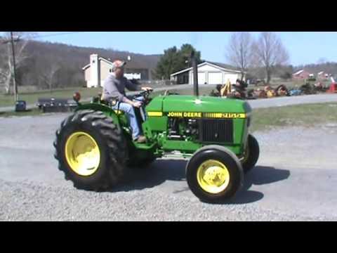John Deere 2155 Farm Tractor Diesel 540 PTO 3 Point Hitch For Sale