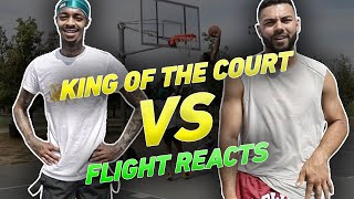 King Of The Court vs FLIGHT REACTS & Starting D1 Point Guard !