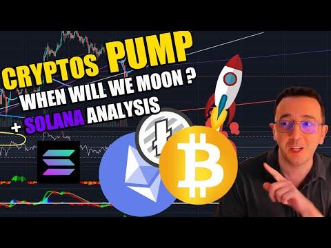 Cryptos PUMP + Solana analysis - price prediction - TODAY - Solana coin SOLUSDT