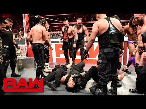 The Shield are brutalized in a massive ambush: Raw, Sept. 3, 2018