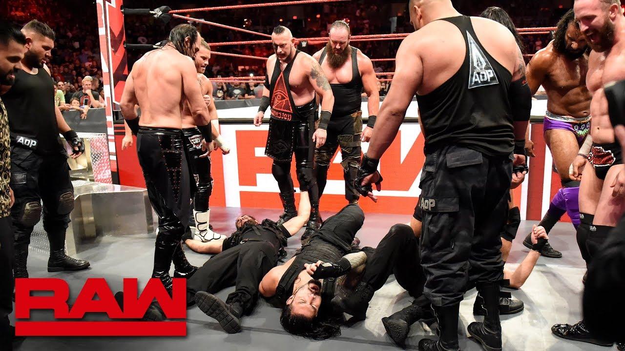 Download The Shield are brutalized in a massive ambush: Raw, Sept. 3, 2018