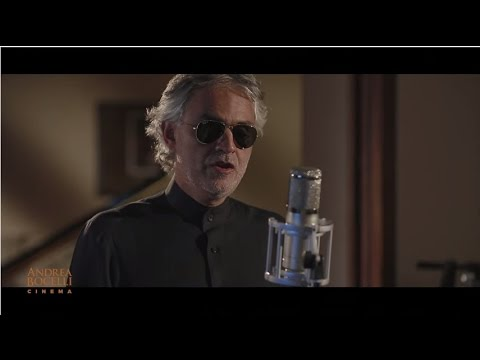 Andrea Bocelli  Cinema Album Trailer Part 2