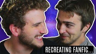 RECREATING *DIRTY* FANFIC ABOUT OURSELVES... w/ FBE2 CAST