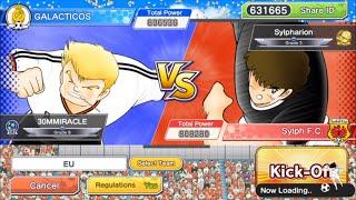 TPL vs Sylpharion use EU ft Kaltz - Captain Tsubasa Dream Team