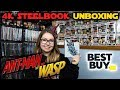 Ant-Man and the Wasp Best Buy Exclusive 4K Steelbook Unboxing!