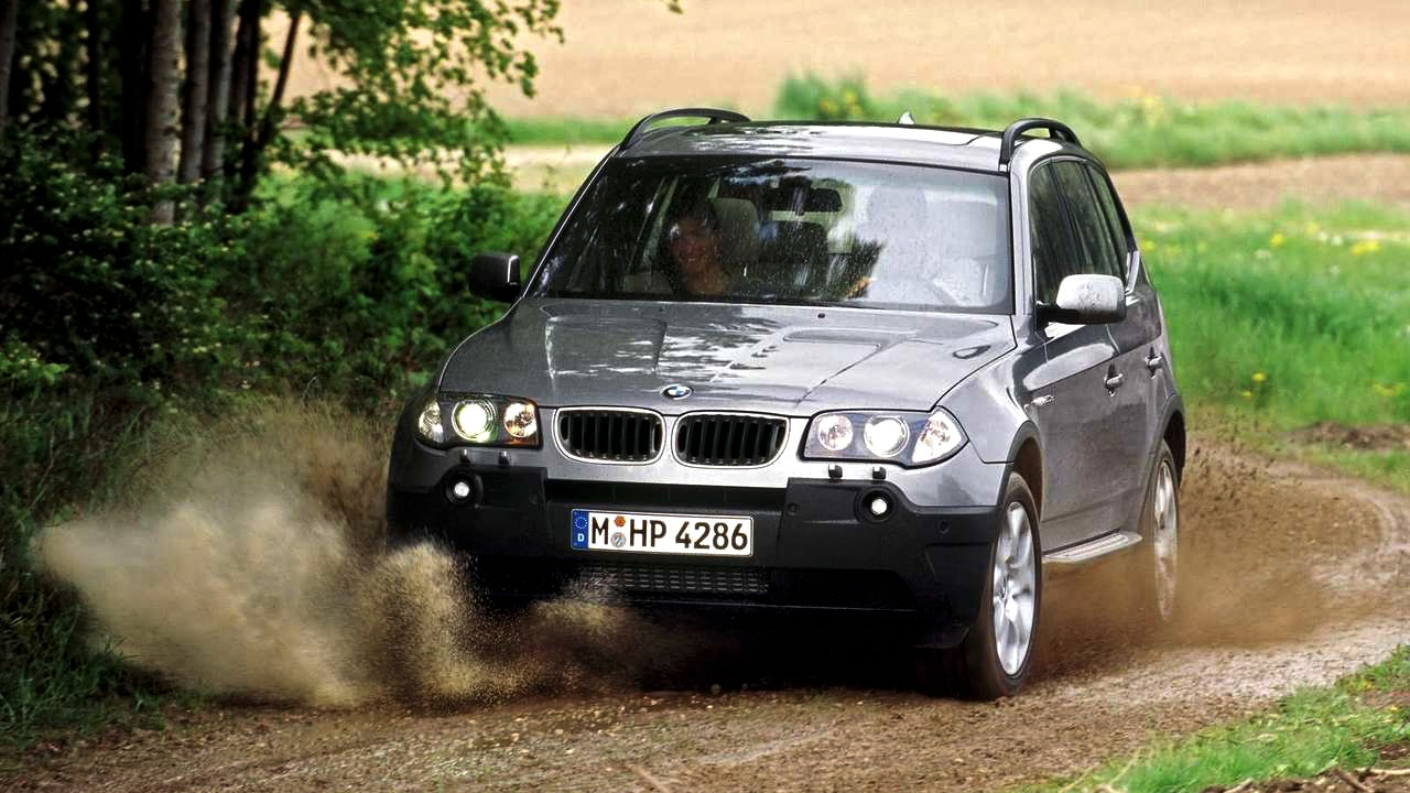 BMW X3 2.0d (2004) - Life Care - YouTube