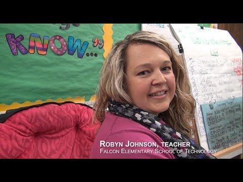Robyn Johnson, Teacher -  Falcon Elementary School of Technology