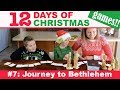 """Journey to Bethlehem"" Christmas Nativity Game #7 (12 Days of Christmas Party Games)"