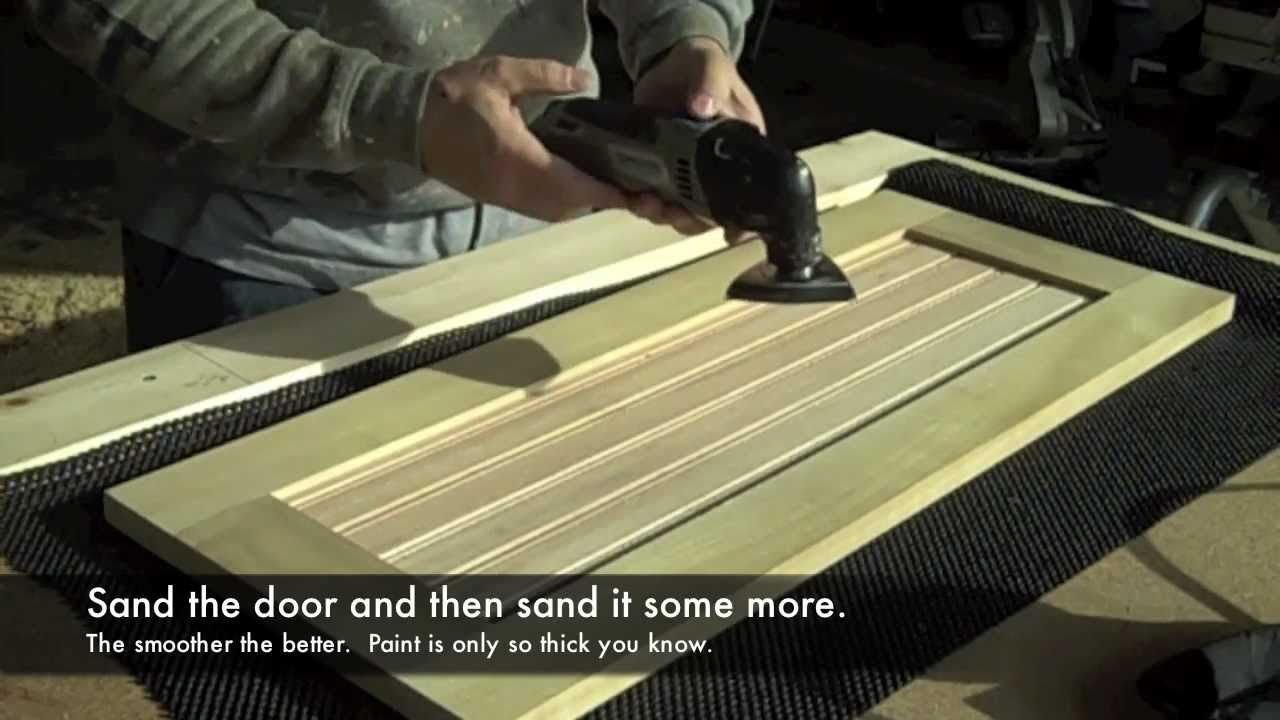 How to Build Kitchen Cabinet Doors - YouTube