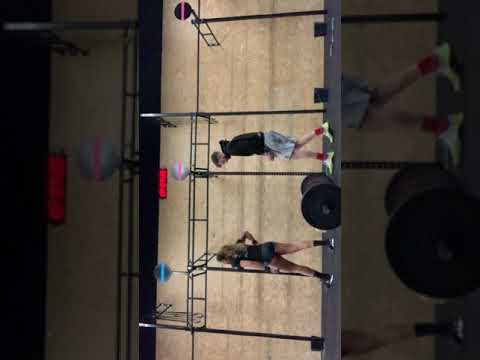 Arena Throwdown Larisa Jubitana WOD 2A En 2B