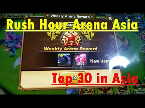 Rush Hours Arena G3 Top30 in Asia Server part1 [English]