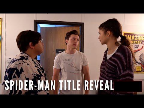 スパイダーマン 新作タイトル決定! タイトルは『Spider-Man: No Way Home』