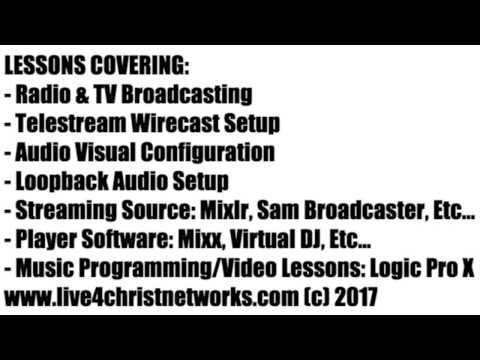 Wirecast, Logic, & Loopback Audio Configuration Setup