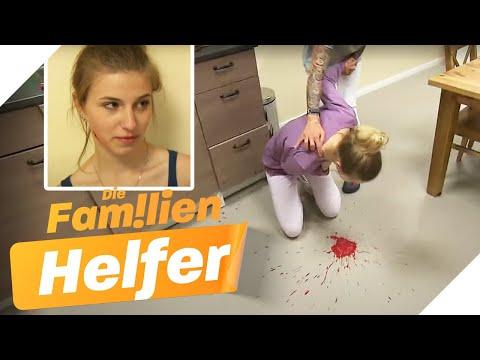 BLUT Gespuckt: Lea (15) Bekommt Verdächtige Heißhunger-Attacke | Die Familienhelfer | SAT.1