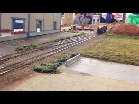 OKC Train Show 12/4/16 PC freight reverses power