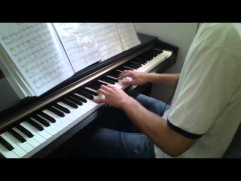 """Never Again"" Piano"
