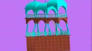MC Escher Belvedere 3D model