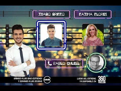 #360yvosTV: Tyago Griffo, Fátima Florez y Pablo Culell