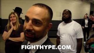 PAULIE MALIGNAGGI ON WHAT'S NEXT FOR THURMAN AFTER PORTER WIN; ANALYZES PERFORMANCE OF BOTH FIGHTERS