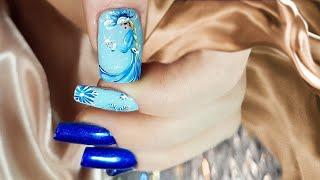 new nail art 2021 the best nail art sky jamping nail