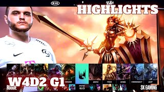 (Highlights) Rogue vs SK Gaming | Week 4 Day 2 S10 LEC Summer 2020 | RGE vs SK W4D2