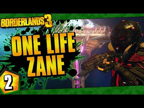 Borderlands 3 | One Life Zane Funny Moments And Drops | Day #2