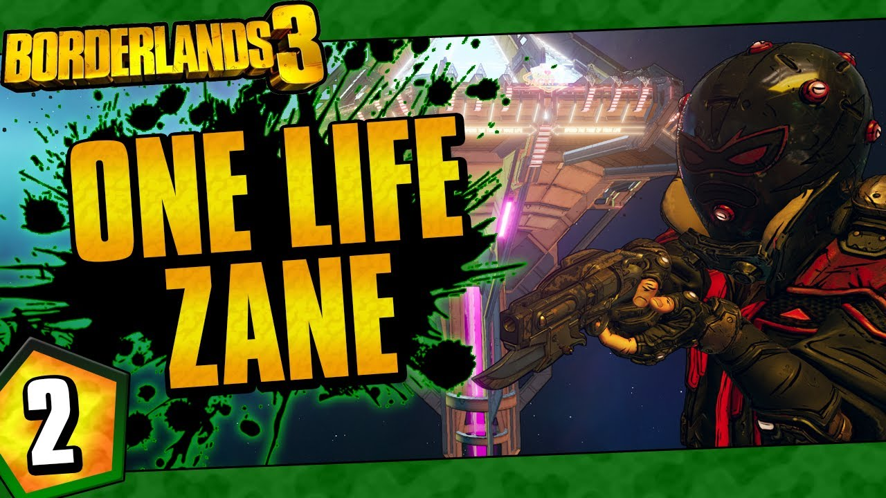 Borderlands 3 | One Life Zane Funny Moments And Drops | Day #2 thumbnail