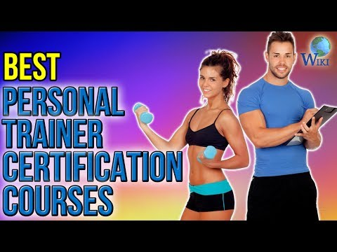 3 Best Personal Trainer Certification Courses 2017
