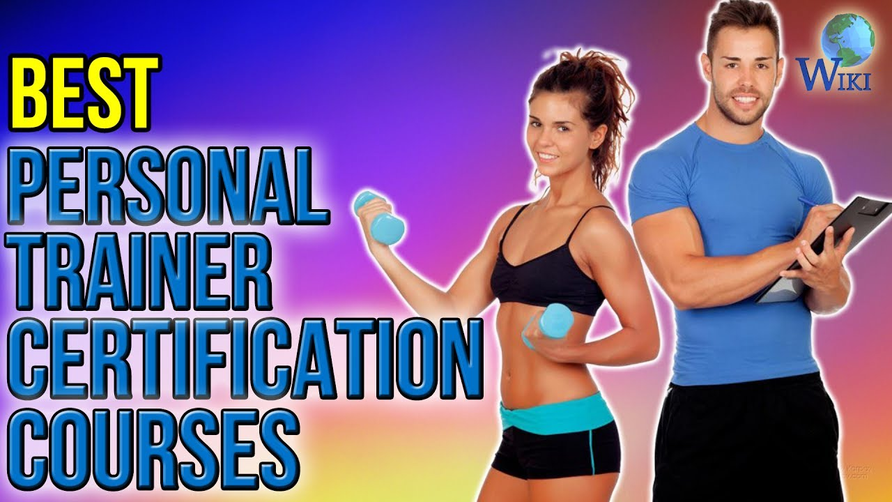 3 Best Personal Trainer Certification Courses 2017 Youtube