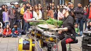地點:台北市信義新天地A11 街演(手持晃動移焦請見諒) 喜歡的話,請去粉絲...
