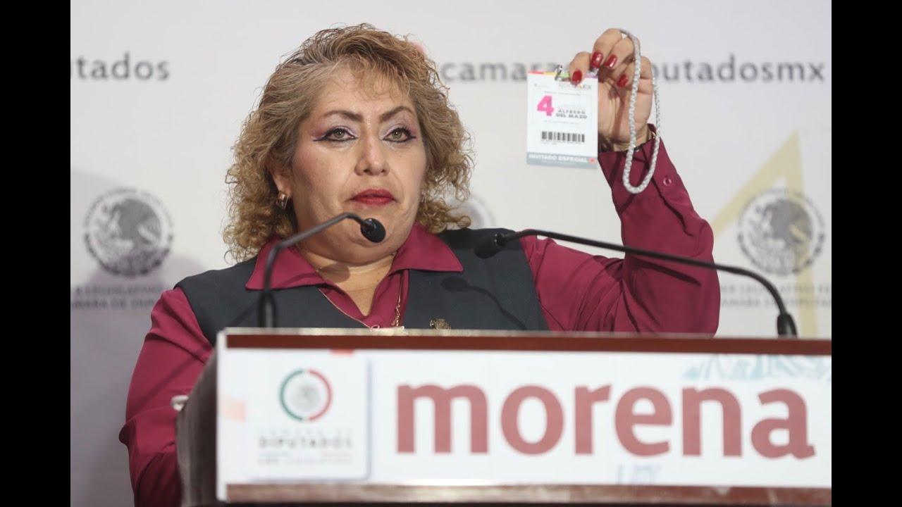 Download EN VIVO / Conferencia de la diputada María Guadalupe Román Ávila (Morena).