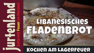 Kochen am Lagerfeuer- Fladenbrot - Jurtenland